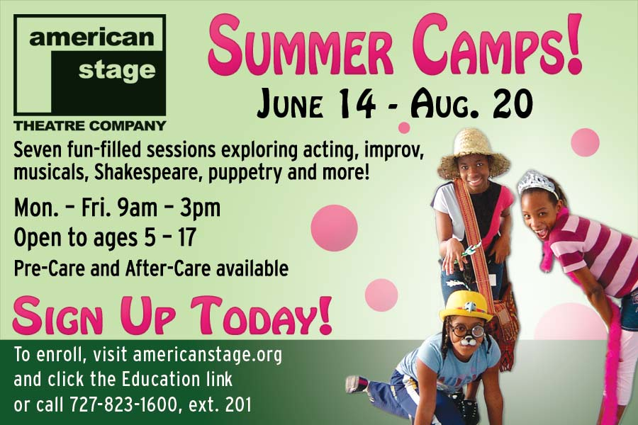 American Stage Summer Camp Print Ad