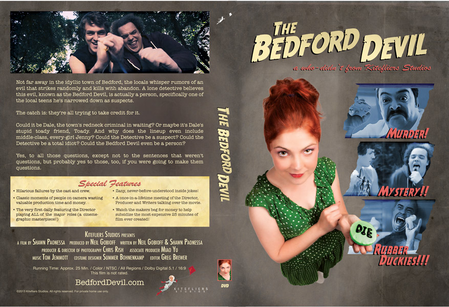 Bedford Devil DVD Box Wrap