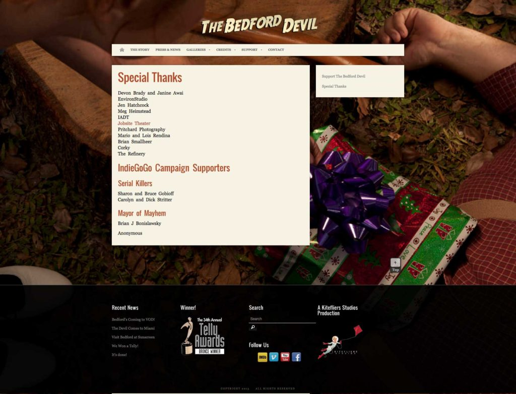 BefordDevil.com Supporters Page