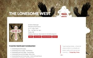 The Lonesome West microsite